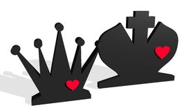 Chess set Royalty Free Stock Images