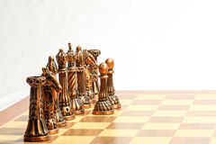 Chess set game Royalty Free Stock Images