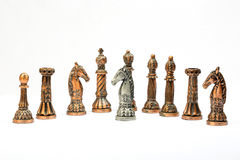 Chess set game Royalty Free Stock Photography