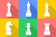 The chess set Stock Images