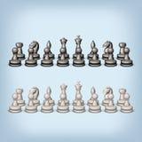 Chess set Stock Image