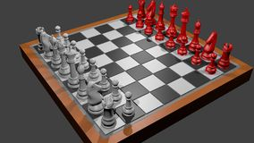 Chess. Set including  board Stock Images