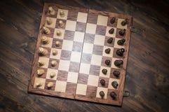 Chess Set Up Beginning Stock Photography