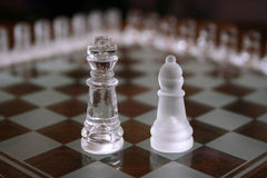 Chess Sets. King and bishop, different set Stock Photography