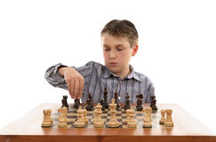 Chess setup Stock Photos