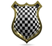 Chess shield Stock Photos