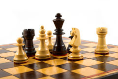 Chess situation Stock Photo