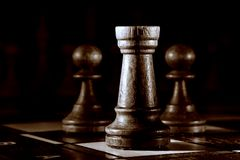 Chess still life Stock Photography