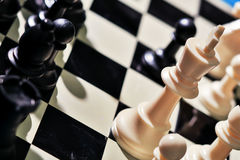 Chess-3. Still life photography of chess Royalty Free Stock Photos