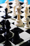 Chess-4. Still life photography of chess Royalty Free Stock Photos