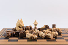 Chess, A Strategic game of conquering Royalty Free Stock Photos