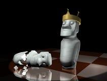 Chess strategy royalty free stock photos