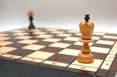 Chess strategy Stock Photography