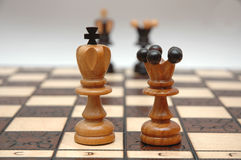 Chess strategy Royalty Free Stock Photography