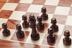 Chess strategy concept Royalty Free Stock Photography