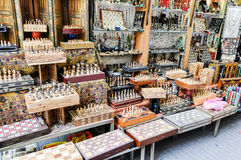 Chess in the streets of Jerusalem Royalty Free Stock Photos