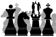 Chess success Royalty Free Stock Photography
