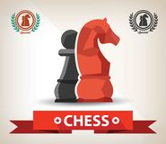 Chess symbol,abstract Stock Image