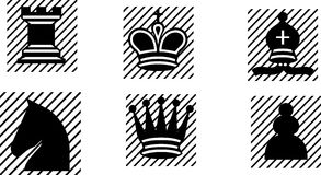 Chess Symbols Stock Photo