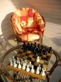 chess table 库存照片