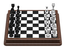 Chess table vector illustration