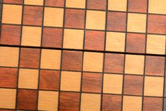 Chess Table Wooden Design Background Stock Image