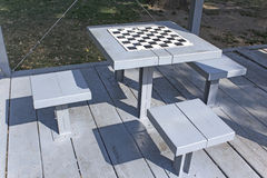 Chess tables Stock Photo