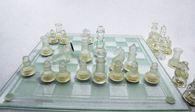 Chess tactical and strategy Royalty Free Stock Image