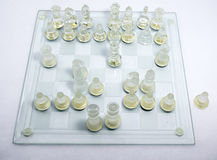Chess tactical and strategy Stock Photo