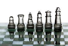 Chess team Royalty Free Stock Images
