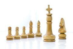 Chess team Royalty Free Stock Photography