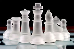 Chess team Royalty Free Stock Photo