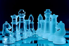 Chess team Stock Photo