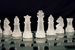 A chess team Stock Photos
