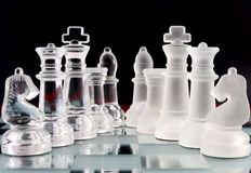 Chess teams Royalty Free Stock Images