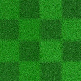 Chess texture of grass. Squares of light and dark shades of green 3d Royalty Free Stock Images