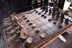 Chess thai style Royalty Free Stock Images