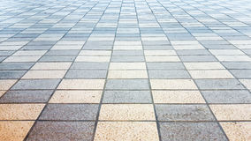 Chess tile floor Royalty Free Stock Image