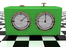Chess timer Stock Image