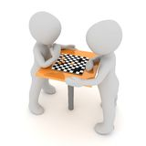 Chess tournament Stock Image