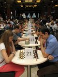 Chess tourney Stock Photo