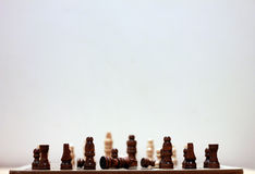 Chess. A two player board game Royalty Free Stock Photos