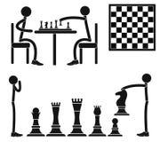 Chess. Vector illustration (EPS 10 royalty free illustration