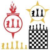 Chess. Vector illustration (EPS 10 Royalty Free Stock Photos