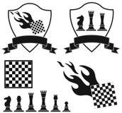 Chess. Vector illustration (EPS 10 Stock Image