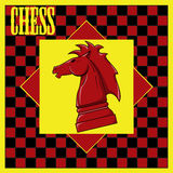 Chess. Vector illustration of Chess Pieces Stock Images