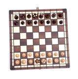 Chess on white Stock Image