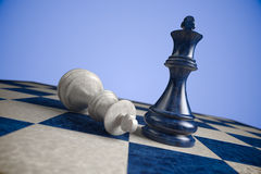 Chess: win royalty free stock images