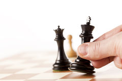 Chess, wining concept Stock Image