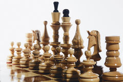 Chess wooden Royalty Free Stock Photos